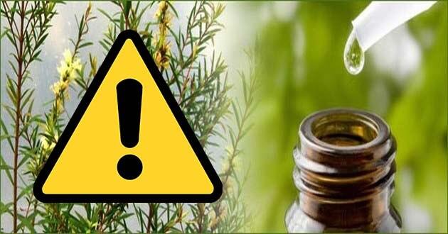 aceite de arbol de te contraindicaciones